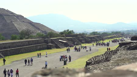 pyramida : Teotihuacan ancient city - Mexico City
