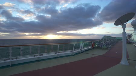 ježek : Tropical sea sunset - view from the cruise ship