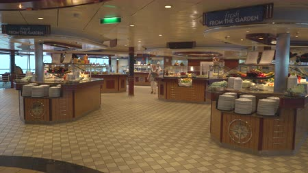serenade : Cruise ship restaurant, Windjammer cafe - Serenade of the seaside