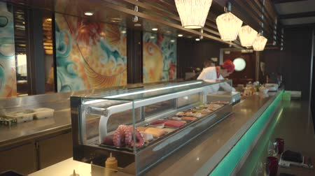 serenade : Japanese sushi restaurant on the cruise ship