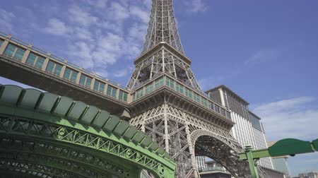 Eiffel tower at Parisian casino and hotel - October 2018: Macau, China