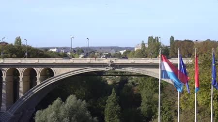 Pont Adolphe bridge - September 2018: Luxembourg