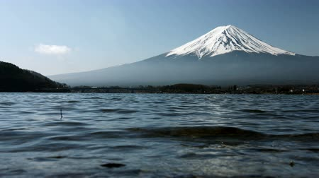 montar : Mount Fuji from water edge