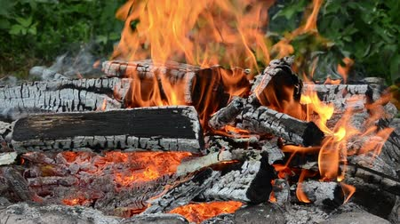 günlüğü : burning red fire wood fireplaces