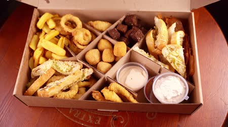 batatas : party box assorted snacks deep-fried beer