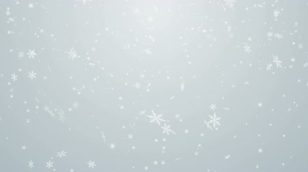 ezüst : Snowing animation Silver background