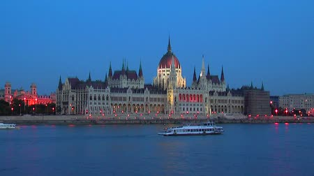 capital cities : Parliament Hall in Budapest, Hungary
