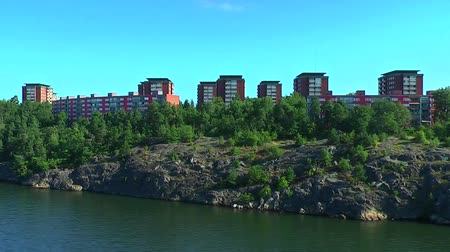 real : Real estate in Stockholm, Sweden Stock Footage