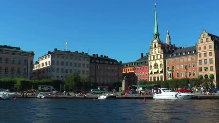 europeu : Sea cruise in Stockholm, Sweden