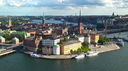 stare miasto : Still panorama of Stockholm