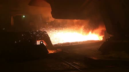 Manufacturing process of releasing of liquid metal from blast furnace at the metallurgical plant