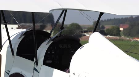 alaplap : Private vintage airplanes close-up, Old