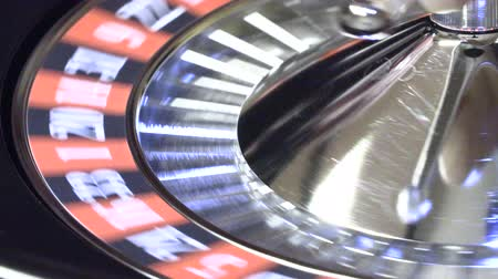 ruletka : Bitcoin in casino roulette bitcoin on the table in the casino