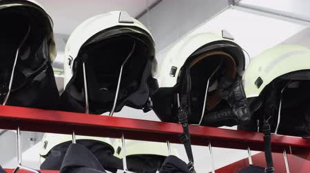fire suit : Helmets and jackets  for the fire brigade