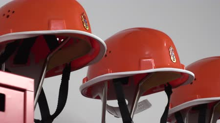 Helmets and jackets  for the fire brigade