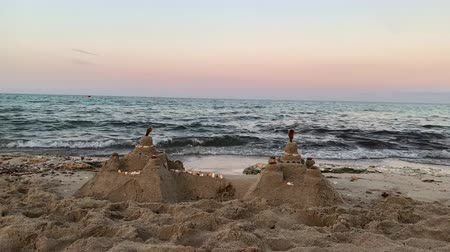 Майорка : Sand castles by the sea