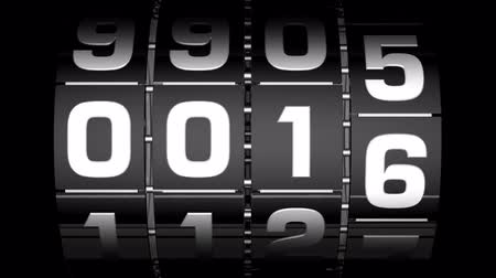 fator : 2012 step counter Stock Footage
