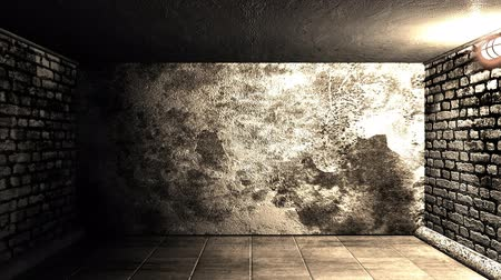 em camadas : Wall explosion in tunnelm slow-motion
