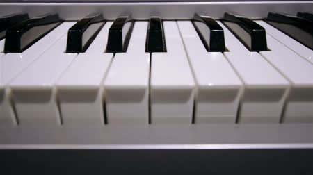 piano parts : Piano keyboard background in loop