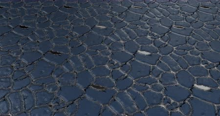 paving : Floating over cobblestone loop background Stock Footage