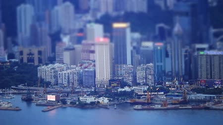 baía : Miniature Effect of Causeway Bay