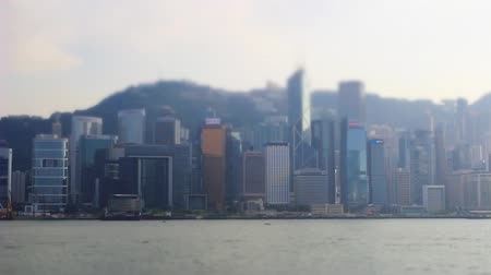 Виктория : Miniature Effect of Victoria Harbour , hong kong