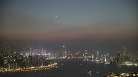Hong Kong City skyline