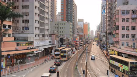 the Castle Peak Road at Yuen Long