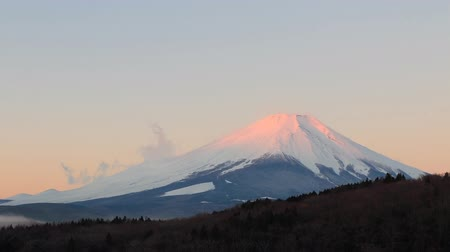 montar : Time lapse dawn of Mt Fuji, Japan