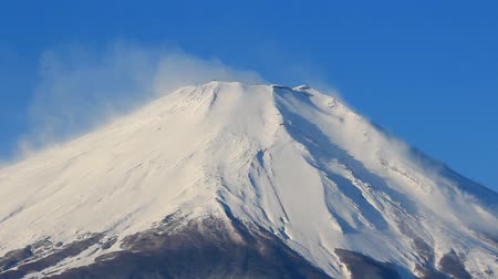 Close up Mount Fuji Japan