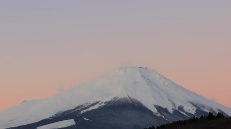 Time lapse zoom out of Mt Fuji, Japan