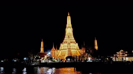 4k Wat Arun is one of the most beautiful temples in Bangkok, Thailand.