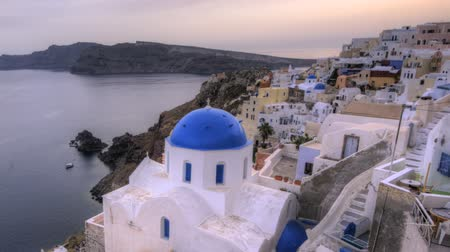 УВР : Sunset in Oia