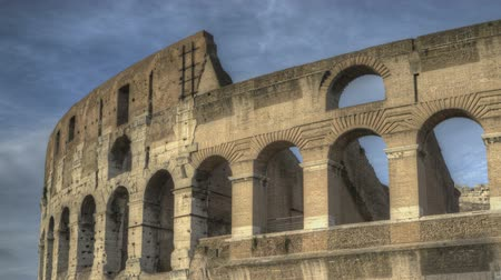 rzym : Timelapse of Colosseum in Rome