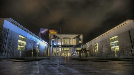 chancellery : View of the german chancellery Stock Footage