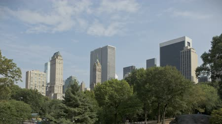 américa central : HDR Timelapse of Central park and New York City Uptown Vídeos