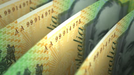 australiano : Australian Dollar Close-up (senza saldatura)