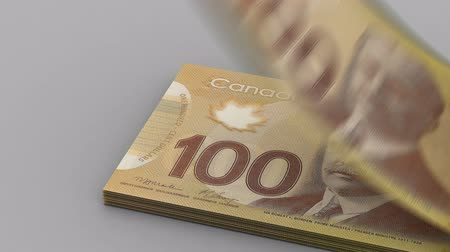 canadien : Compter dollar canadien