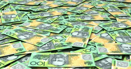 dolar : Stack of Australian Dollars (seamless)