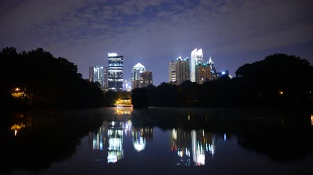 ga : Midtown Atlanta Georgia Time Lapse at Piedmont Park
