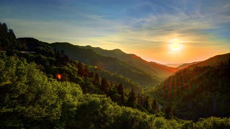 paesaggio montagna : Newfound Gap in Great Smoky Mountains