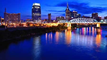 brodway : Downtown Nashville, Tennessee Skyline