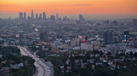 város : Los Angeles early morning