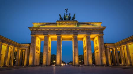 gates : Brandenburg Gate in Berlin, Germany