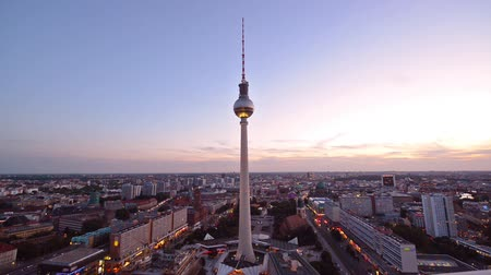 berlin skyline : Berlin, Germany cityscape