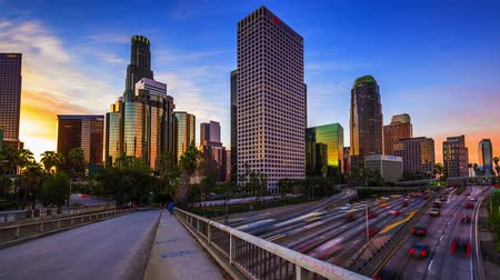 locatie : Los Angeles, California, USA time-lapse
