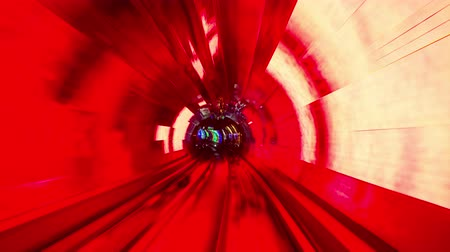 trilho : Shanghai, China sightseeing tunnel