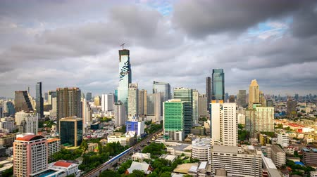 southeast : Bangkok, Thailand time lapse. Stock Footage
