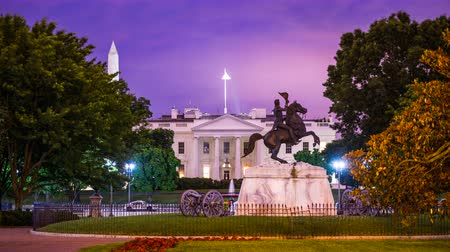 governo : Washington, DC at the White House and Lafayette Square. Vídeos