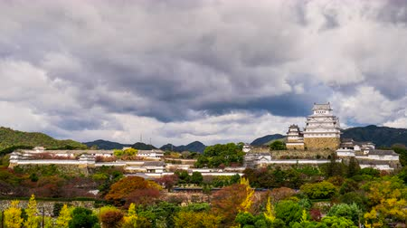 samuraj : Himeji, Japan at the castle Wideo